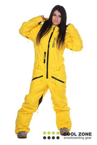 Сноубордический комбинезон женский Cool Zone 2710
