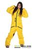 Сноубордический комбинезон Cool Zone yellow (2710) женский
