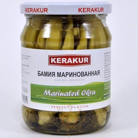 Бамия маринованная Керакур, 450г