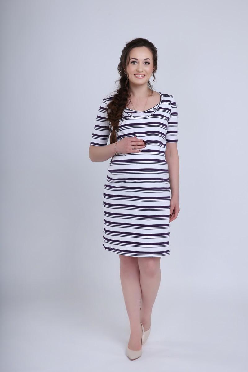 Платье 08560 белый