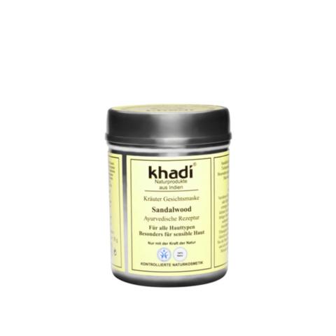 Сандаловое дерево убтан для лица Khadi Naturprodukte, 50 гр