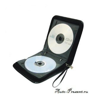 Портмоне для cd, dvd дисков с логотипом Skoda