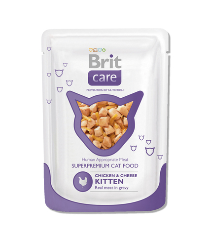 Brit Care Cat Kitten chicken & cheese