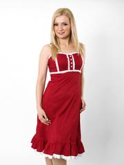 1440-1 платье красное