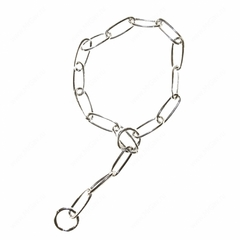 Triol цепь рывковая с крупным звеном и вертлюгом длина 80 см толщина 4 мм