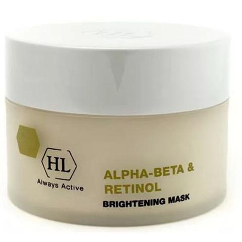 Holy Land Alpha-Beta and Retinol Brightening Mask - Осветляющая маска