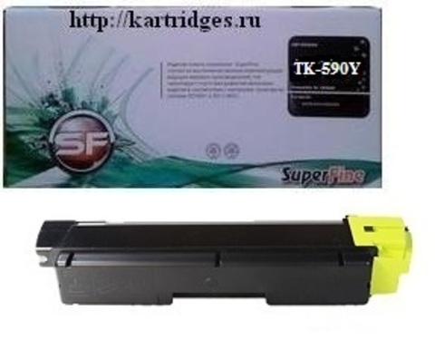 Картридж SuperFine SF-TK-590Y