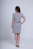 Платье для беременных и кормящих 08560 белый