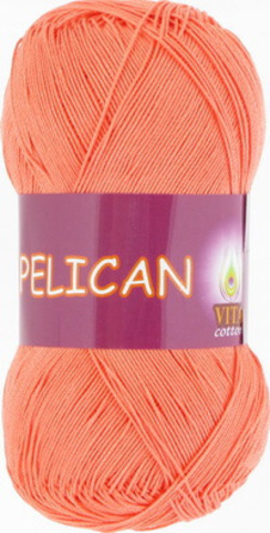 Пряжа Pelican (Vita cotton) 4003 Персик (1 моток)