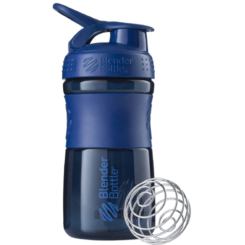 Бутылка-шейкер SportMixer Navy