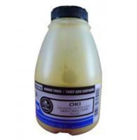Тонер TOMOEGAWA желтый для OKI универсальный, глянцевый 250 гр.