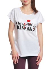 37662-13-4 футболка женская, белая