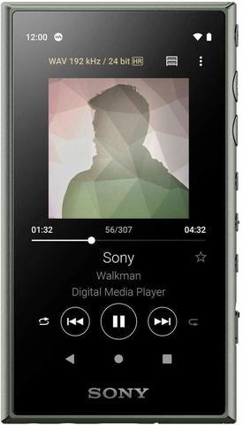 NW-A105G Hi-Res плеер Sony, 16Gb, цвет зелёный