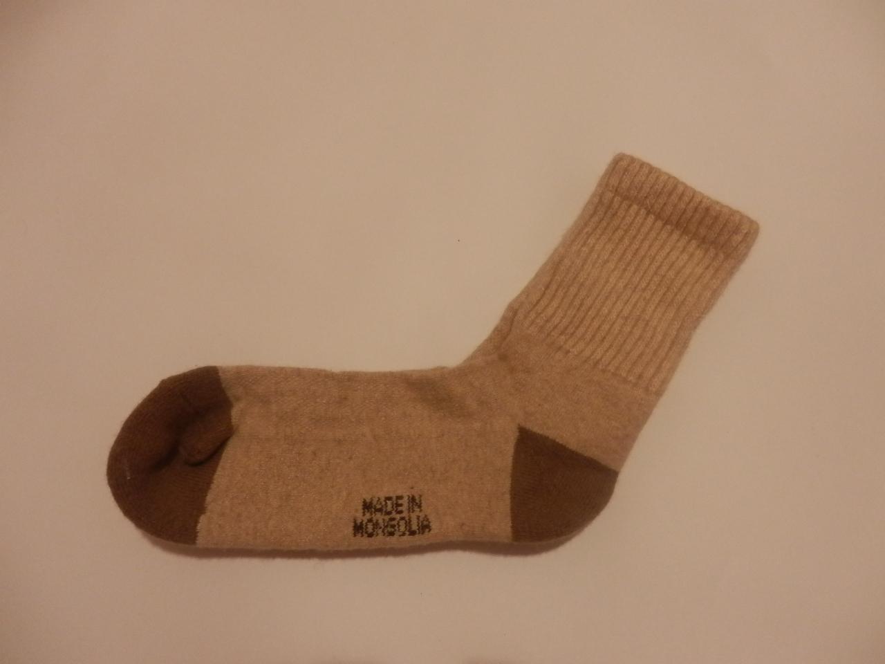 Носки из верблюжьей шерсти фото3