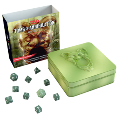 Dungeons & Dragons- Tomb of Annihilation  Dice