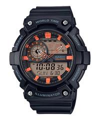 Мужские японские наручные часы Casio AEQ-200W-1A2