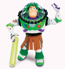 Toy Story Exclusive Hawaiian Vacation Talking Buzz Lightyear
