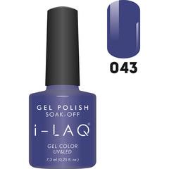 Гель лак для ногтей I-laq  043, 7,3 мл.