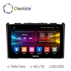 Штатная магнитола на Android 6.0 для Honda CR-V 06-12 Ownice C500+ S9640P