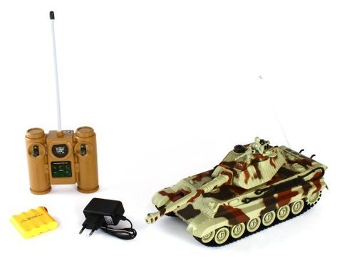 Радиоуправляемый танковый бой Russian T90 vs Tiger King 1:28 (код: 99821)