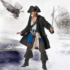 Пираты Карибского моря костюм Джека Воробья