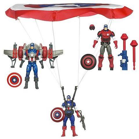Captain America Deluxe Figure Series 01