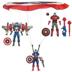 Captain America Deluxe Figure Series 01