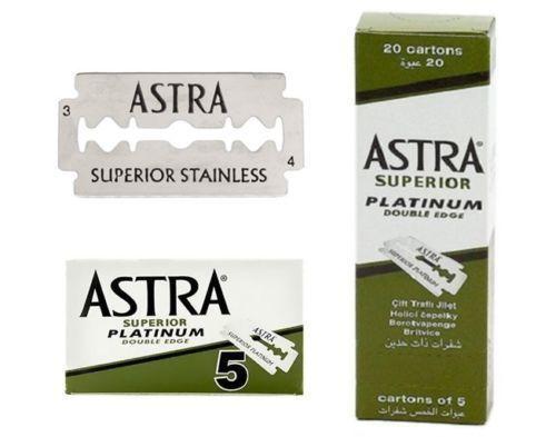 Блок сменных лезвий Astra Superior Platinum