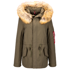 Парка Alpha Industries J-4 Impact Fishtail W Olive