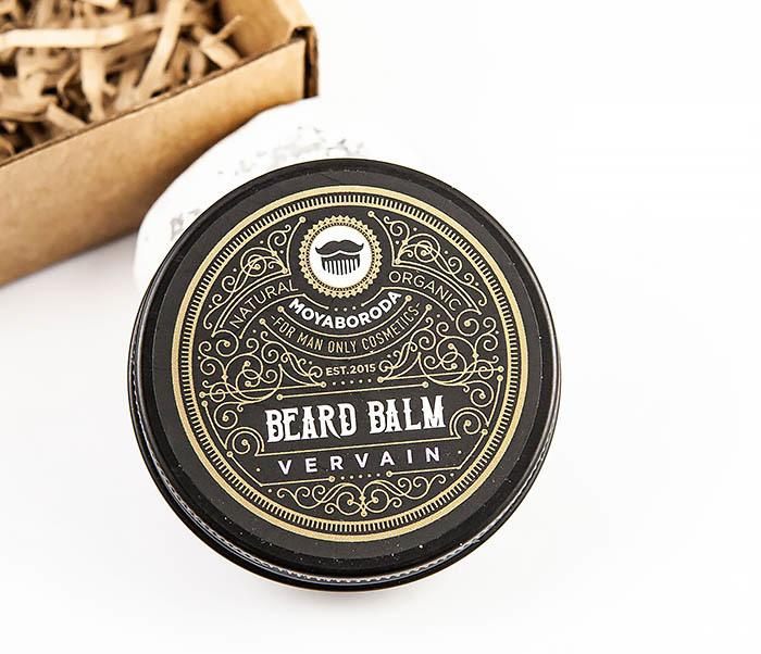 CARE119-1 Органический бальзам для ухода за бородой MOYABORODA «VERVAIN» (30 гр)