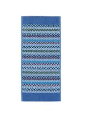 Полотенце 50x100 Feiler Square джинсово-голубое