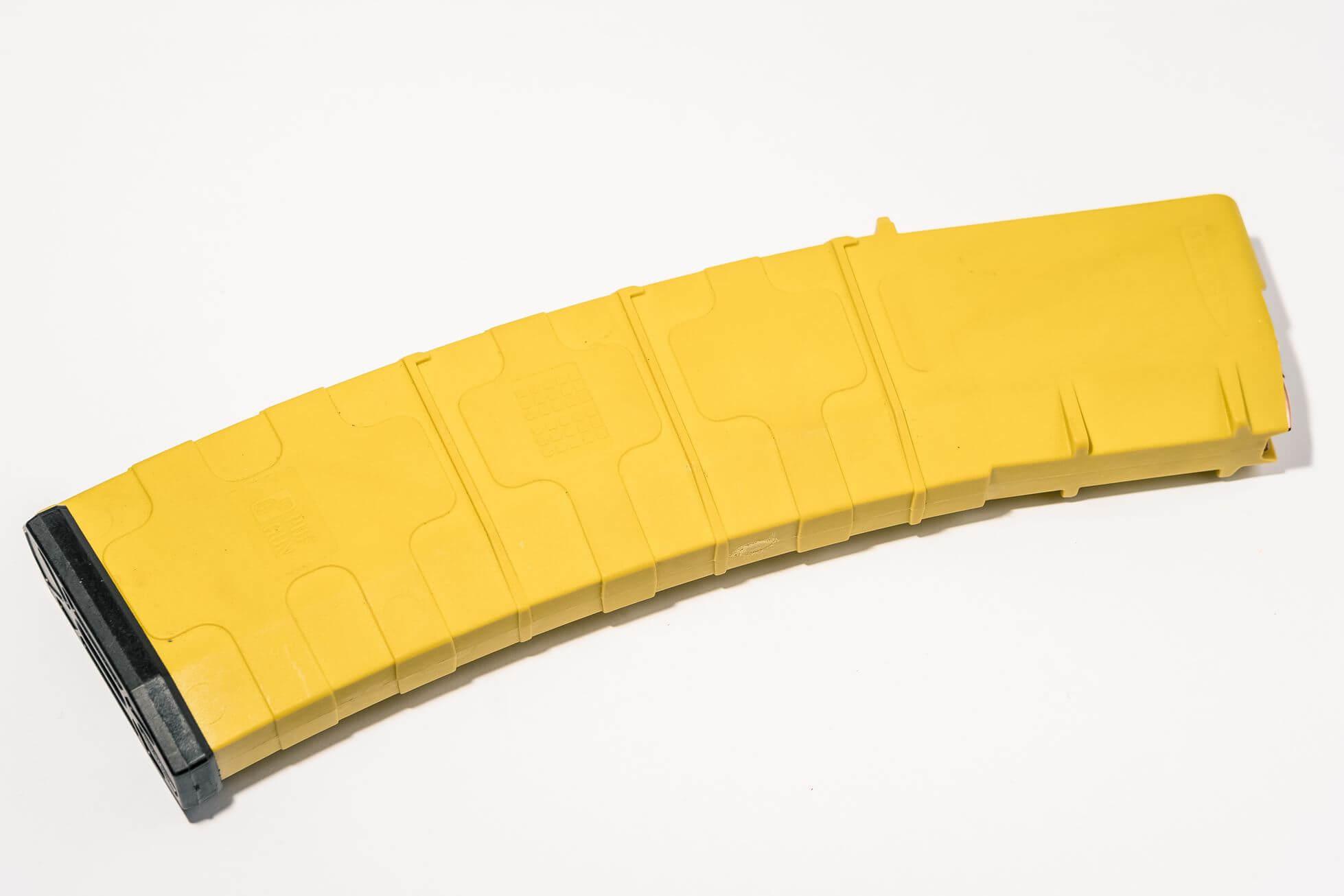 Магазин Pufgun для AR-15 на 45 патронов, желтый