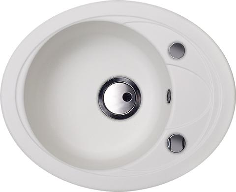 Кухонная мойка Kuppersberg CAPRI 1B1D S WHITE