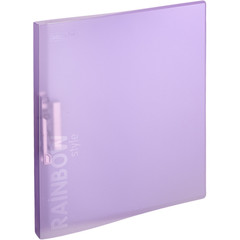 Папка с зажимом Attache Rainbow Style фиолетовый