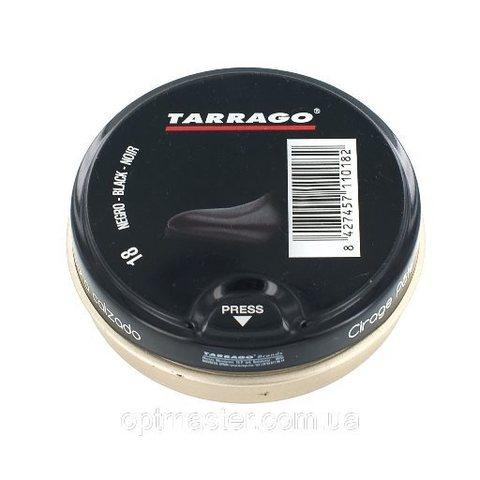 Крем банка TCL40 TARRAGO SHOE Polish TIN, Ж/Б, 50мл.  (черный/бесцветный)