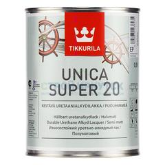 Лак Tikkurila Unica Super п/матовый, 9л