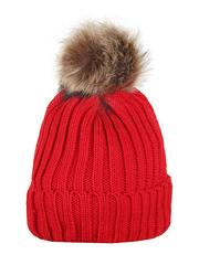 HT1806-2 шапка женская, красная