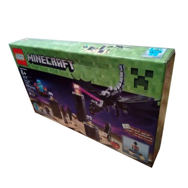 Вид коробки Лего Майнкрафт 21117*