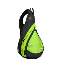 Однолямочный рюкзак SWISSWIN 1830 Mini Салатовый