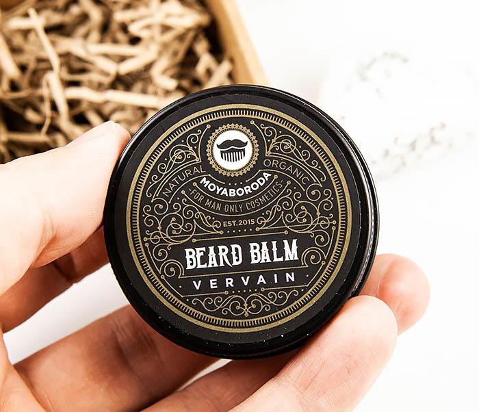 CARE119-1 Органический бальзам для ухода за бородой MOYABORODA «VERVAIN» (30 гр) фото 04