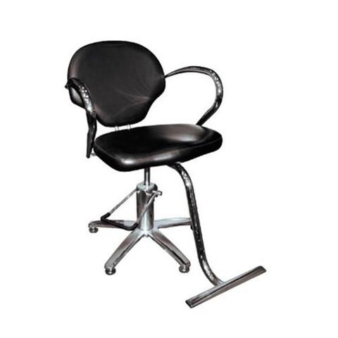 Кресло парикмахерское  А07В черное