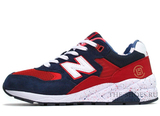 Кроссовки Женские New Balance 580 Elite Edition Dark Blue Red