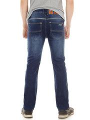 L2080 джинсы мужские, темно-синие
