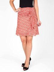 6195 юбка цветная