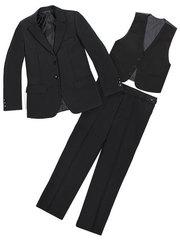 B118 костюм для мальчиков, черный