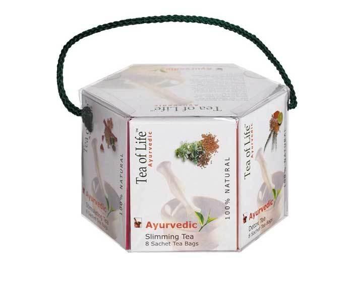 Чай в пакетиках аюрведический Tea of Life ассорти, 48 пак/уп (Ти оф лайф)