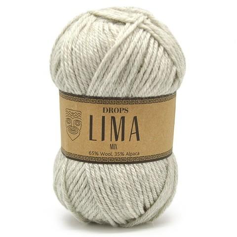 Пряжа Drops Lima 9020 серебро