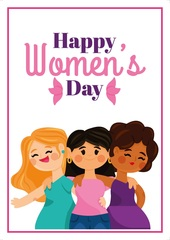 Açıqca (Открытки) happy womens day womens