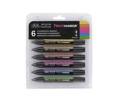 Набор маркеров W&N NEONMARKER 6шт