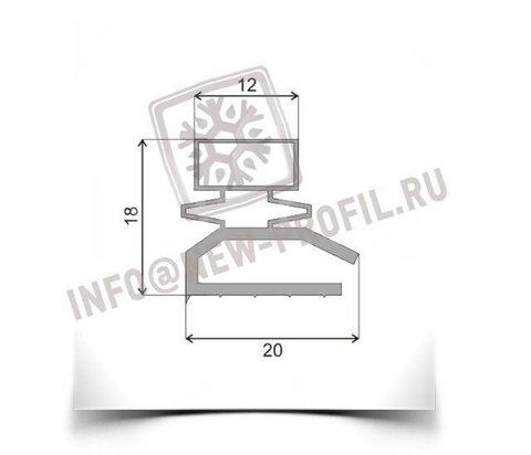 Уплотнитель 133*55 см для холодильника Памир 77. Профиль 013